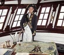 Captains Desk Image