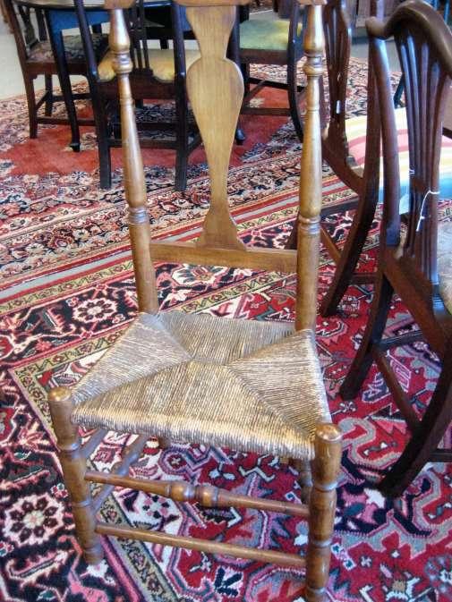 Twentieth Century Queen Anne Style Chair