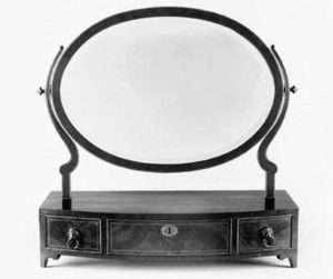 Museum of Newark dressing mirror