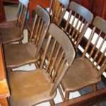 Set of Six Country Empire Dining Chairs