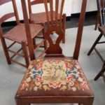 Robert Walker Fredericksburg Virginia Chippendale Side Chair