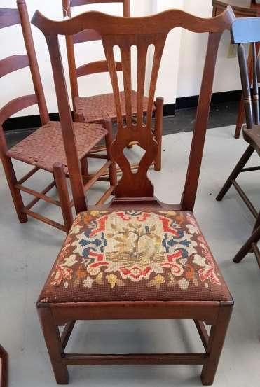 Robert Walker Fredericksburg Virginia Chippendale Side Chair