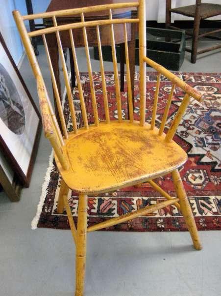 Bird-Cage Windsor Arm Chair