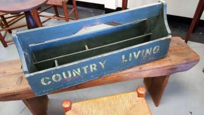 Country Primitive Tool Box