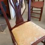 Robert Walker Fredericksburg Virginia Hepplewhite Side Chair