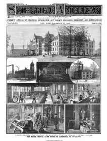 Newspaper Story on Miller School