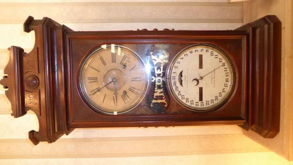 Wall O Matic Jukebox And A Fabulous Index Clock