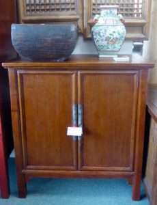 chinese elm cabinet 19th century booth 417