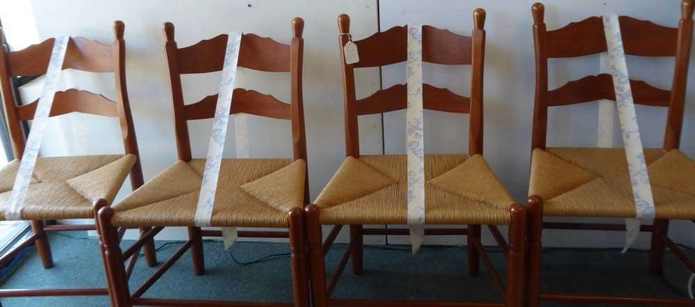 Turquoise/Sterling Cross, Set Of 4 Clore Chairs And More! | Ruckersville  Gallery