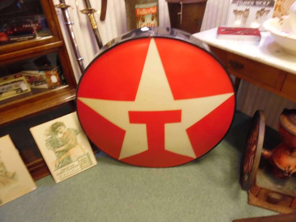 Vintage Texaco Sign, E.A. Clore Buffet, An Estate Sale This Weekend And  More!
